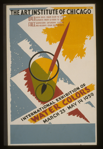 International Exhibition Of Water Colors The Art Institute Of Chicago - March 23 - May 14 1939 / Gregg. Image