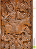 Wood Carving Clipart Image