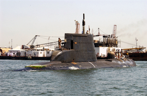 The Royal Danish Navy Submarine Her Danish Majesty S Ship Hdms Saelen Gets Underway Image