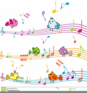 Music animated. Free note clipart images