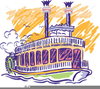 Clipart Of Steamboat Image
