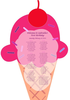Ice Cream Cone Seating Chart Image