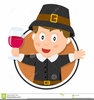 Pilgrim Boy And Girl Clipart Image