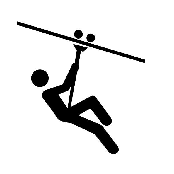 Ziplining Icon Image  sc 1 st  Clker & Ziplining Icon | Free Images at Clker.com - vector clip art online ...