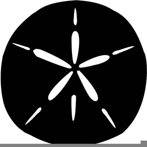Sand Dollar Silhouette | Free Images at Clker.com - vector ...