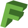 Letter F Icon Image