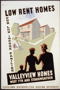 Low Rent Homes For Low Income Families Valleyview Homes, West 7th And Starkweather. Image