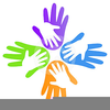 Clipart Of Helping Hands Image