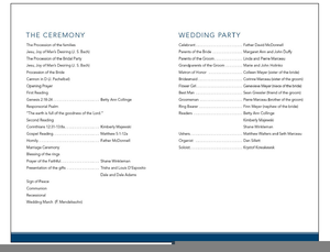 sample wedding program clipart free images at clker com vector
