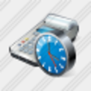 Icon Cash Register Clock Image