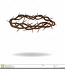 Free Clipart Of A Crown Of Thorns Image