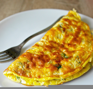 Cheese Tomato Omelette Image