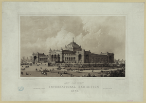 Art Gallery, International Exhibition, 1876 Image