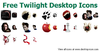 Free Twilight Desktop Icons Image