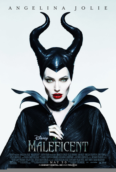 Maleficent Horns Stencil Free Images At Clker Com Vector