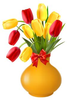 Free Clipart Flowers In Vase Image