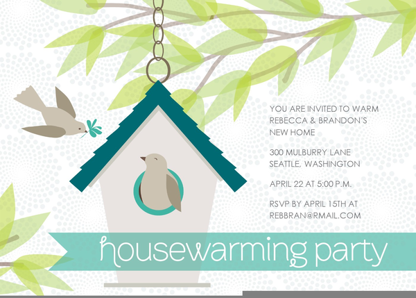 housewarming party invitation clipart free images at clker com