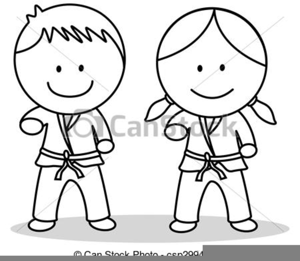 Free Clipart Karate Kids Free Images At Clker Com