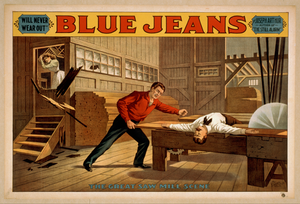 Blue Jeans  Will Never Wear Out  : By Joseph Arthur, Author Of  The Still Alarm.  Image