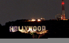 Hollywood Sign Lights Image