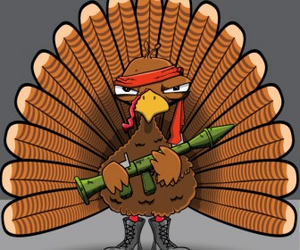 Thanksgiving Turkey X Image