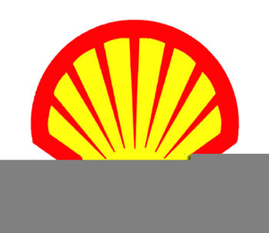 Shell Gasoline Clipart Image