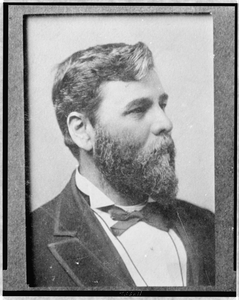 [milton M. Holland, Head-and-shoulders Portrait, Facing Right] Image