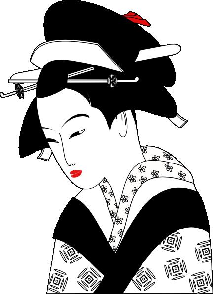 Asian Woman Clip Art at Clker.com - vector clip art online ...