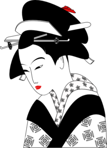 Asian Woman Clip Art
