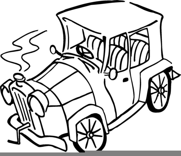 Broken Car Clipart Free Free Images At Clker Com