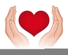 Caring Hands Clipart Image