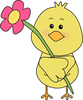 Free Cartoon Flower Clipart Image
