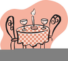 Free Clipart Candle Light Dinner Image