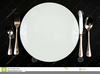 Place Setting Clipart Image
