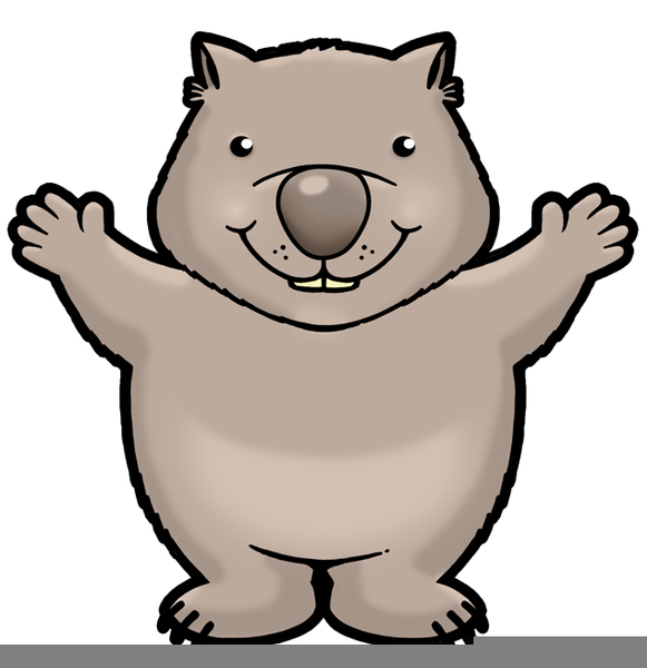 wombat clipart cartoon free free images at clker com luau clip art free printable luau clip art free signs