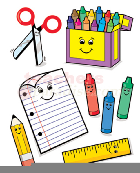 school supplies clipart free free images at clker com vector rh clker com school supplies clipart free school supply clipart free