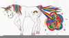 Unicorn Rainbow Fart Image