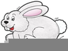 Free Hopping Bunny Clipart Image