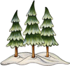 Clipart Trees Yard Image