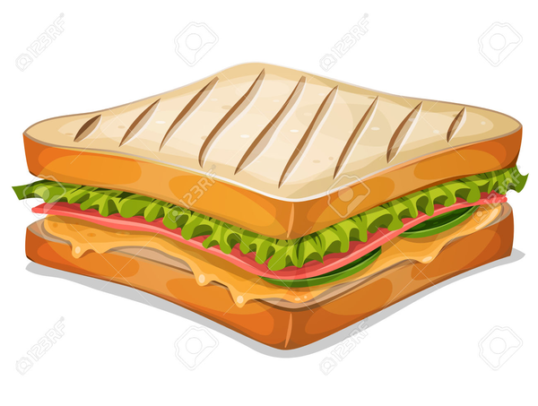 Ham Cheese Sandwich Clipart | Free Images at Clker.com ...