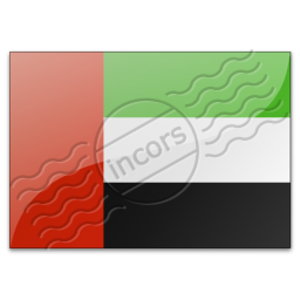 Flag United Arab Emirates 3 Image