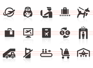 0109 Airport Icons 3 Image