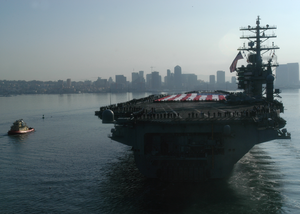 Uss Nimitz (cvn 68), Returns Home To San Diego Image