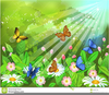 Butterflies Animated Clipart Image