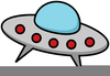 Spaceship Animated Clipart Image
