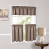 Taupe Kitchen Curtains Image