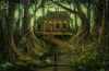 Into The Woods Clipart Image