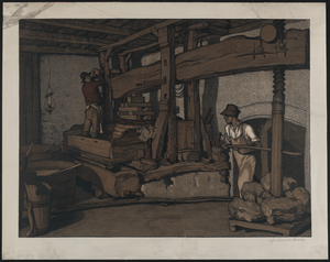 [the Wine Press]  / Ferdinand (?) André. Image