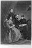 President Lincoln And Family Image