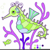 Sea Life Cartoon Clipart Image